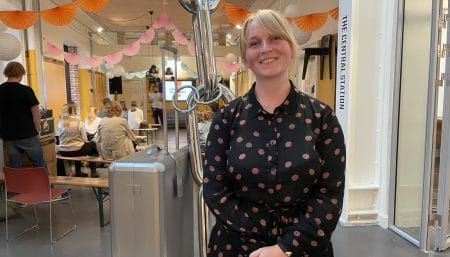 Ida Cecilie Jensen i Station på Frederiksberg